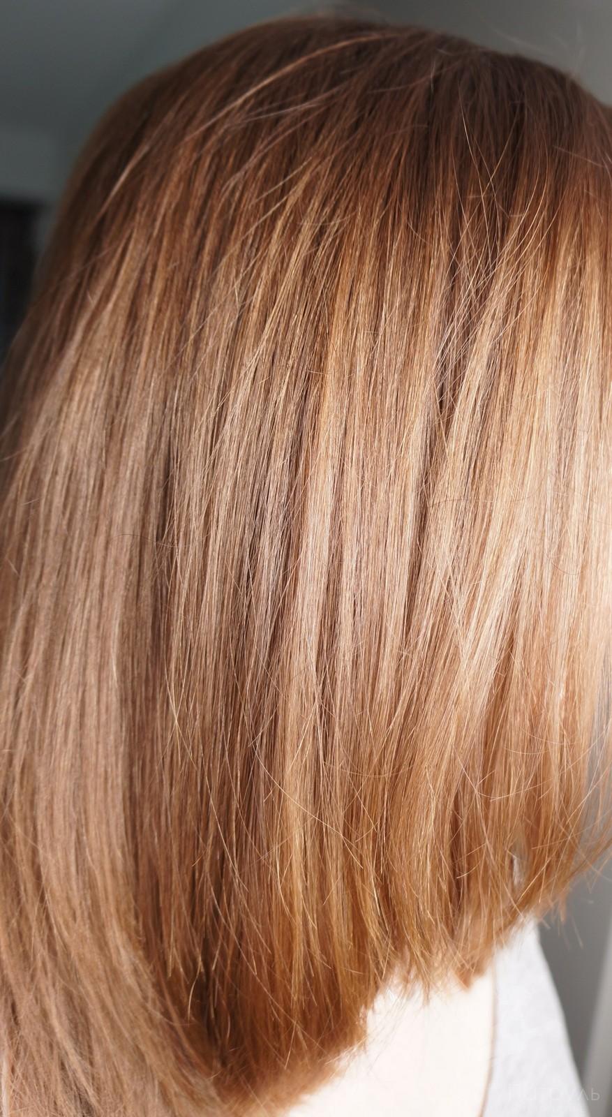 На фото мои волосы после маски Гарньер и сушки феном без каких-либо средств  5b63a14aaf457